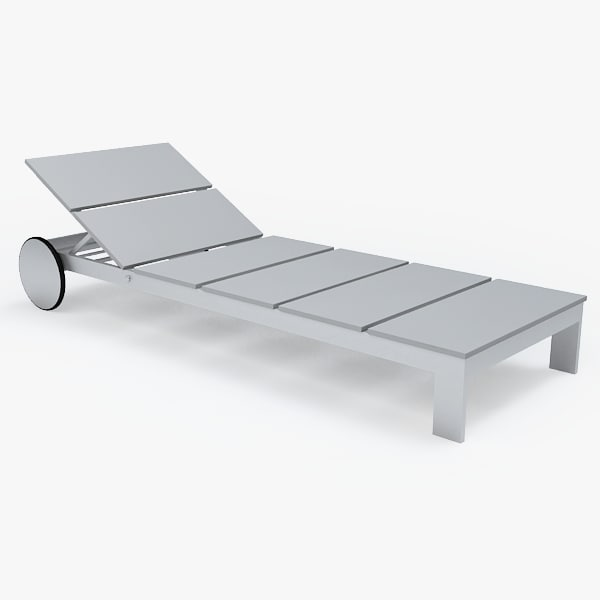 chaise longue 3d max