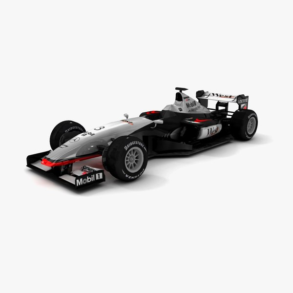 mclaren mercedes mp4-14 3ds