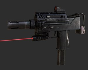 ingram mac-10 3d max