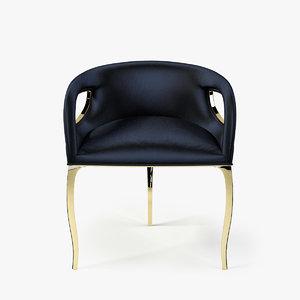 koket chandra chair 3d model