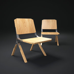 3d model synapse-chair