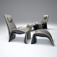 3d model eva-armchair