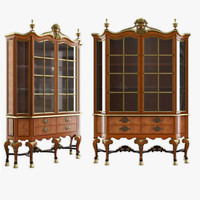 CABINET OF QUEEN ANNE STYLE