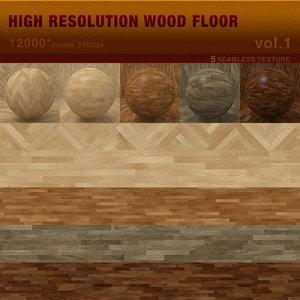 High Resolution Wood Floor vol.1