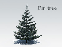 obj fir tree