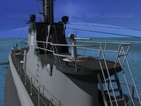 Balao Class Submarine SS285 USS Balao VHP