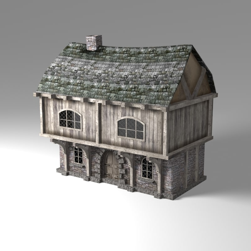 old town house games 3d model