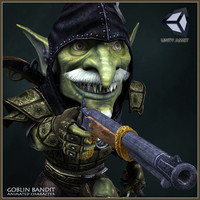 goblin bandit character animations max