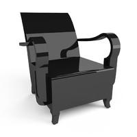 cambodia arm chair 3d max