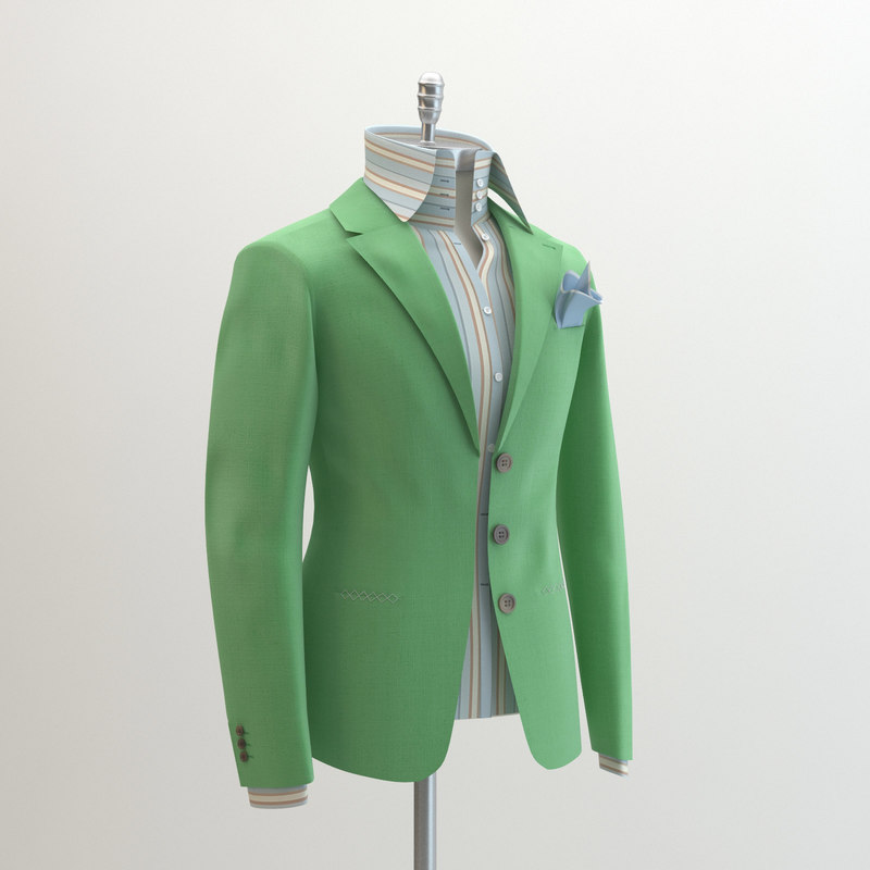 women green suit domenico 3ds