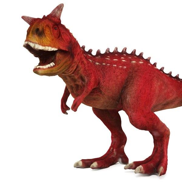 3d carnotaurus toy