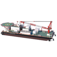 3d offshore barge model