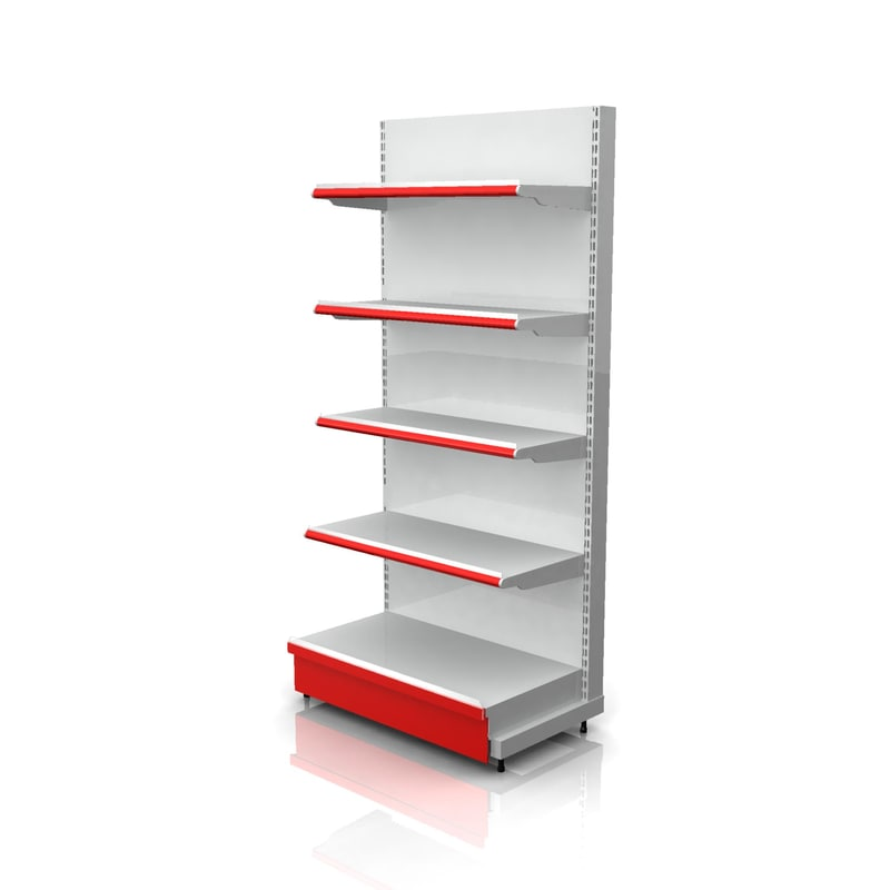 product caps end racks 3d model