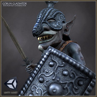 Goblin Gladiator Animated Character