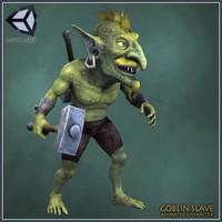 maya goblin slave character animations