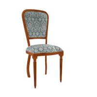 3d model vintage chair