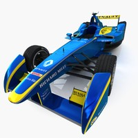Formula E E.Dams Renault