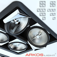 3d arkoslight trimless look model