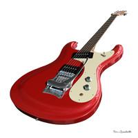 3d model guitar ventures mosrite