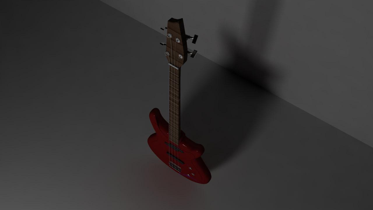 obj bass guitar