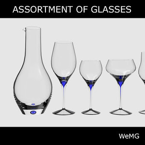 3d intermezzo glases model