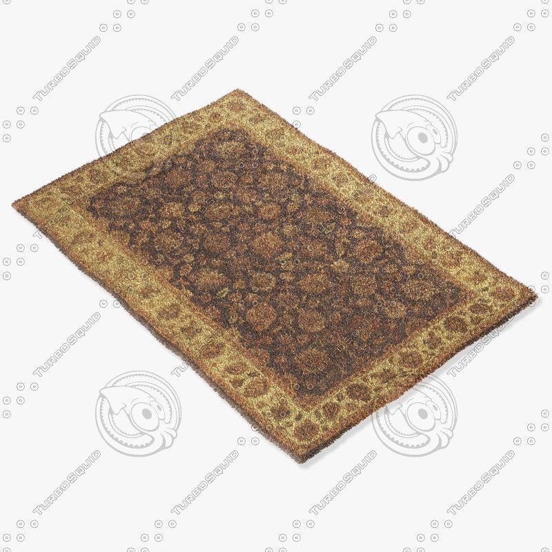 rug tia m1018 3d model