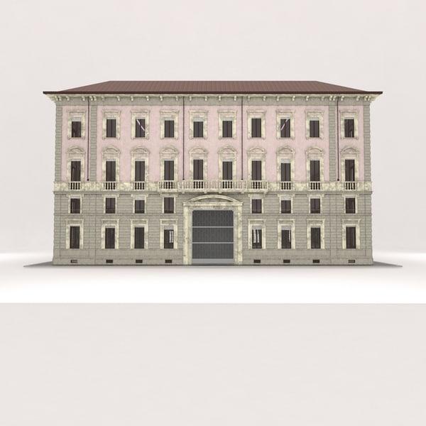 3d model building milan