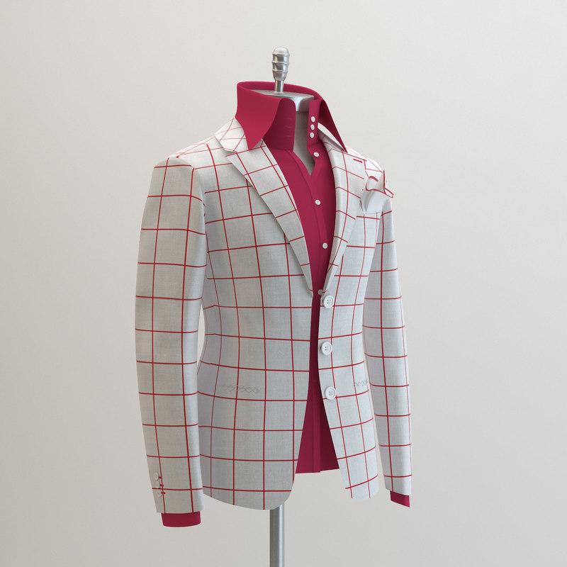 women white suit domenico 3ds