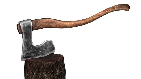 ax executioner execution 3d model