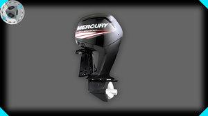 3d mercury motor model