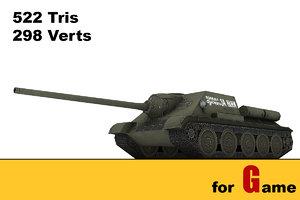 3ds max ww ii soviet tank