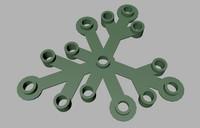 3ds lego leaf