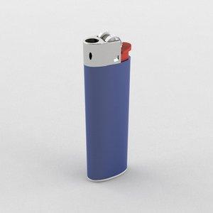 lighter 3d max