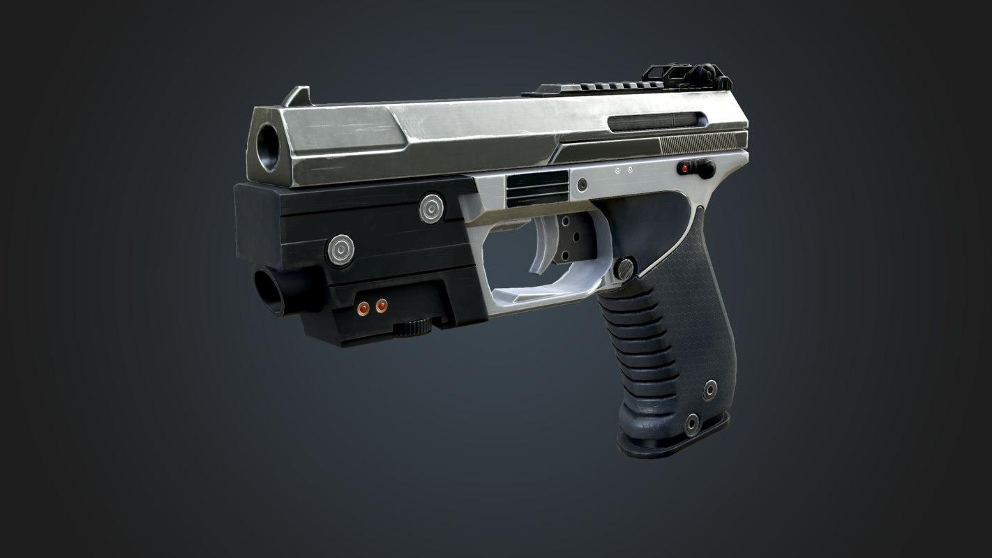 3d pistol syndicate games model