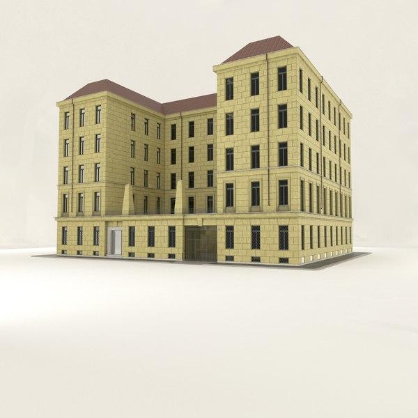 building milan 3d model