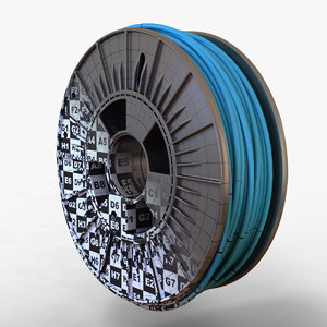 printer filament 3d obj