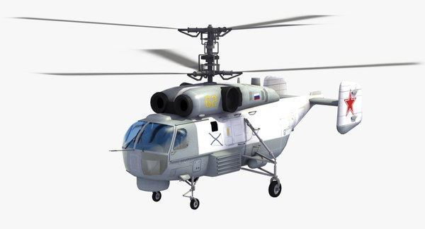 dwg kamov ka-27 helix helicopter