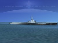 submarine balao sub 3d model