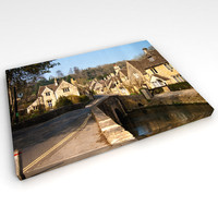canvas wall photo 3d model