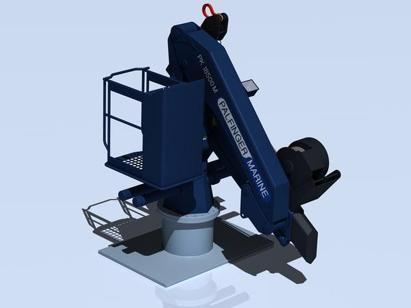 3d model palfinger pk18500m