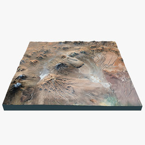 volcano landscape 3d x