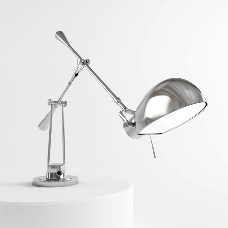 ralph equilibrium table lamp 3d model