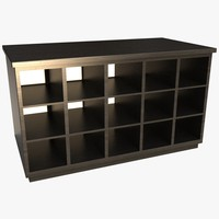 3ds storage desk cabinet pigeon
