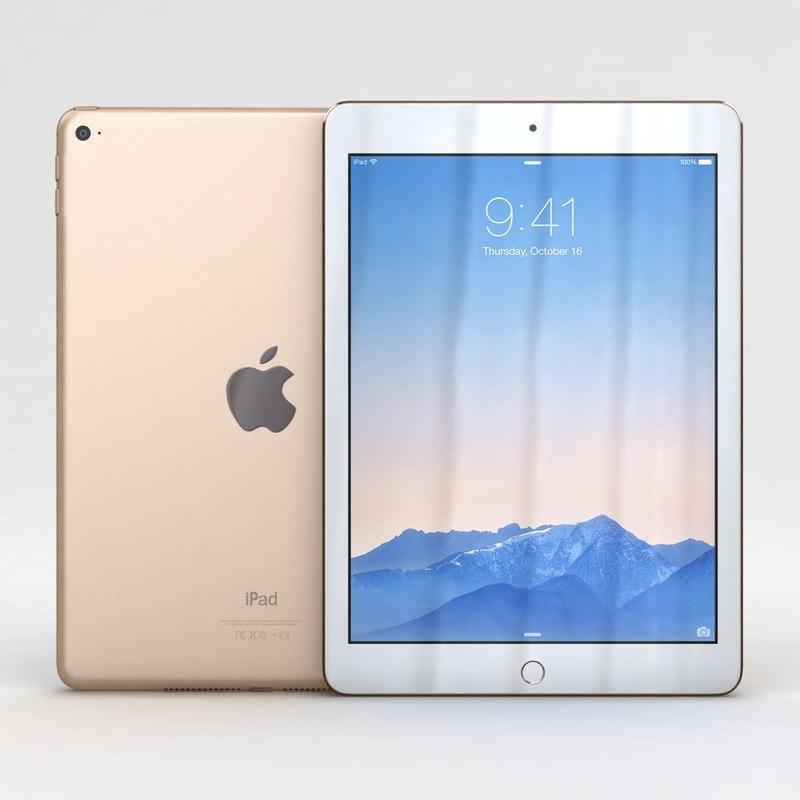 3ds max apple ipad air 2