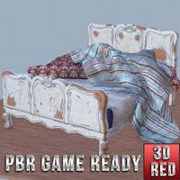 ready bed 3d model