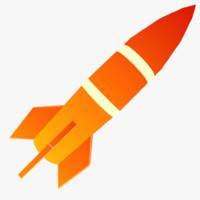 ready cartoon rocket 3ds