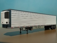 Refrigerated Semi Trailer