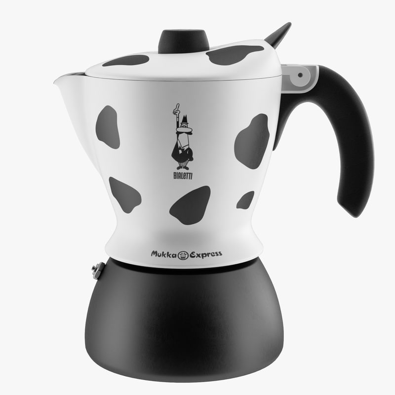 bialetti mukka express coffee maker 3d 3ds