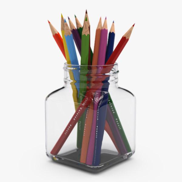 3ds max color pencil set