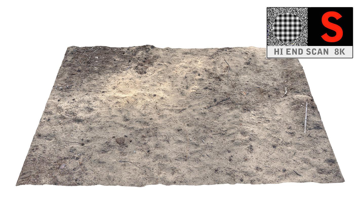 3d desert area scanned 8k